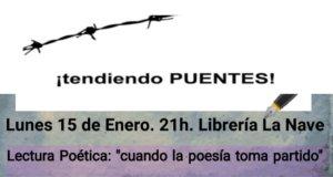 La Nave Cuando la poesía toma partido Salamanca Enero 2018