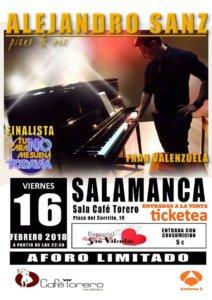 Sala Torero Fran Valenzuela Salamanca Febrero 2018