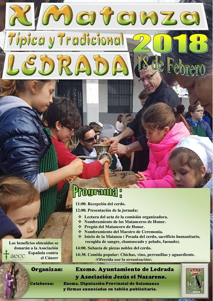Ledrada X Matanza Típica y Tradicional Febrero 2018