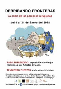 Casa de las Conchas Paso Suspendido Salamanca Enero 2018