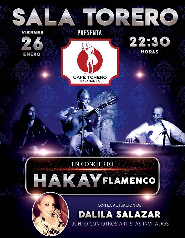 Sala Torero Hakay Flamenco Dalila Salazar Salamanca Enero 2018