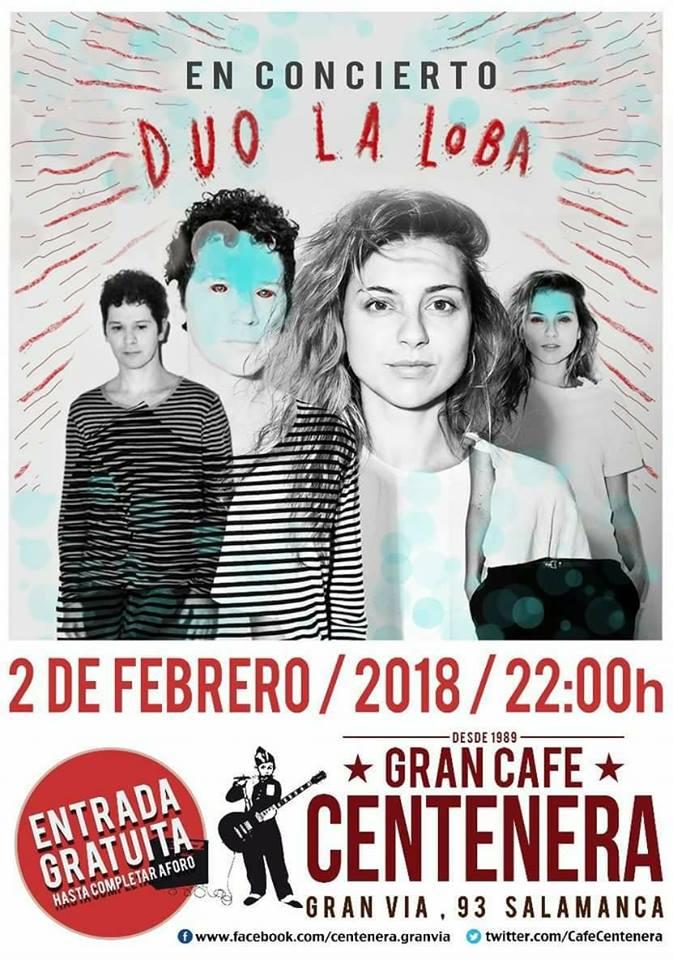 Centenera Dúo La Loba Salamanca Febrero 2018