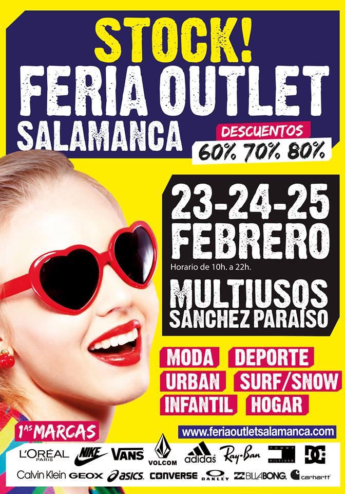 Sánchez Paraíso Feria Outlet Salamanca Febrero 2018