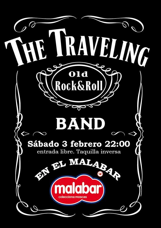 Malabar The Travelling Band Salamanca Febrero 2018