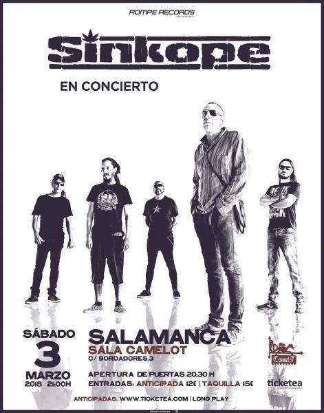 Camelot Sinkope Salamanca Marzo 2018