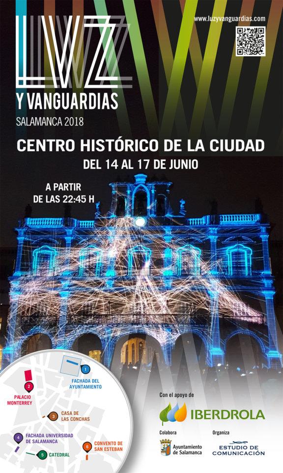 III Festival de Luz y Vanguardias Salamanca Junio 2018