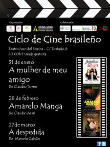 Ciclo de Cine Brasileño Centro de Estudios Brasileños Salamanca Enero febrero marzo 2018