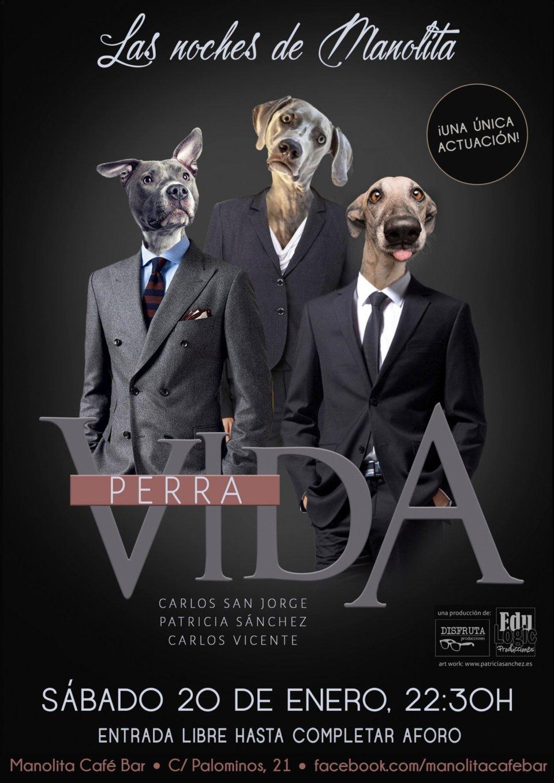 Manolita Café Bar Vida perra Las noches de Manolita Salamanca Enero 2018