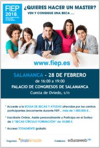 Palacio de Congresos y Exposiciones FIEP 2018 Salamanca Febrero