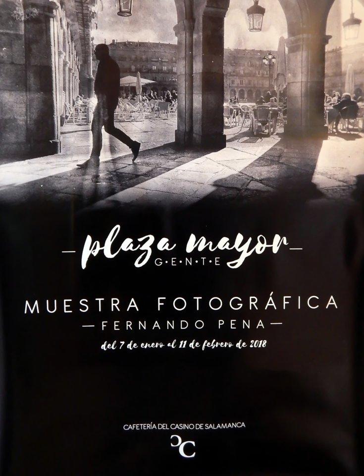 Casino de Salamanca Fernando Pena Plaza Mayor Gente Enero febrero 2018