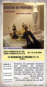 La Malhablada Derecho de pernada Salamanca Enero 2018