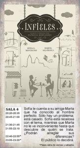 La Malhablada Infieles Salamanca Febrero 2018