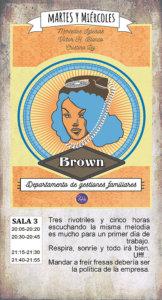 La Malhablada Brown Departamento de gestiones familiares Salamanca Febrero 2018