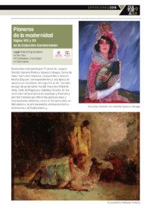 San Eloy Pioneros de la modernidad. Siglos XIX y XX en la Colección Gerstenmaier Salamanca 2018