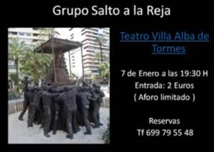 Alba de Tormes Grupo Rociero Salto a la Reja Enero 2018