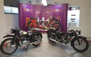 Tres nuevas motos para el Museo de Historia de la Automoción de Salamanca