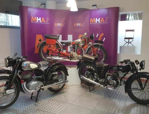 Tres nuevas motos para el Museo de Historia de la Automoción de Salamanca.