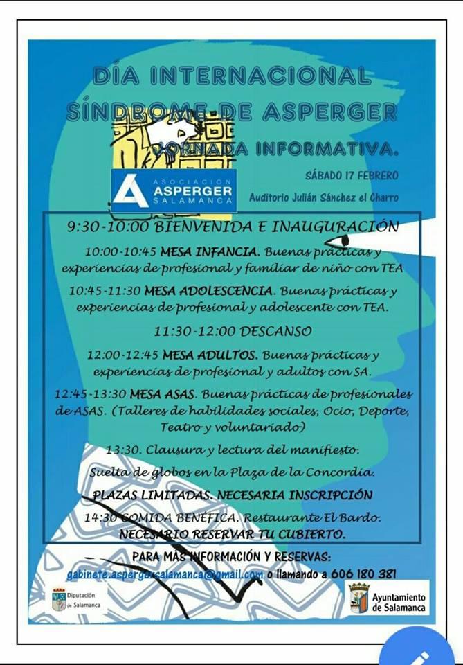Julián Sánchez El Charro Día Internacional del Síndrome de Asperger Salamanca Febrero 2018