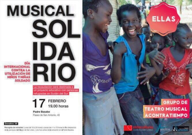Salón Padre Basabe Grupo de Teatro Musical AContratiempo Ellas Salamanca 2018