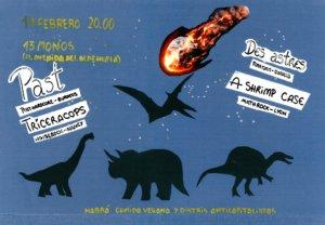 Trece Monos Past + Des Astres + Triceracops + A Shrimp Case Salamanca Febrero 2018