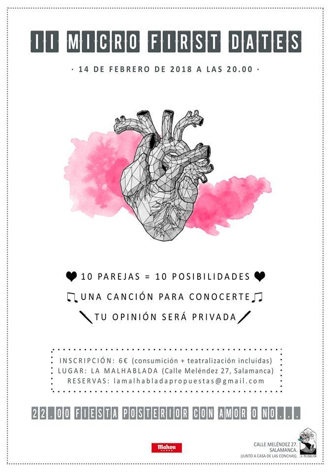 La Malhablada II Micro First Dates Salamanca Febrero 2018