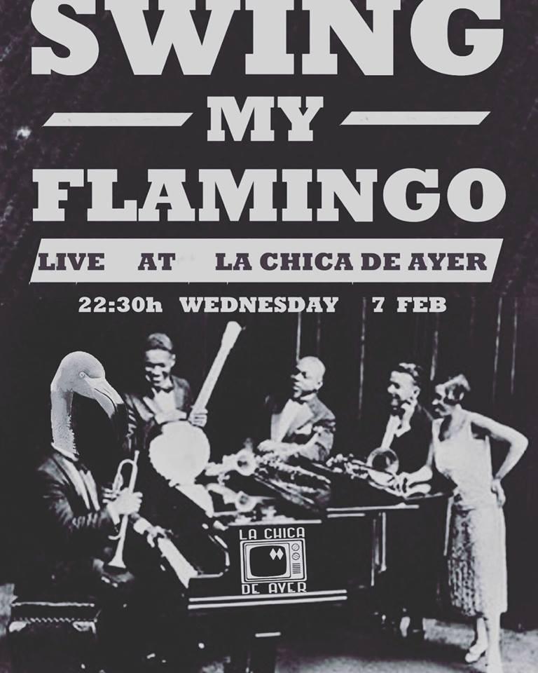 La Chica de Ayer Swing my Flamingo Salamanca Febrero 2018