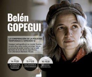 Letras Corsarias Belén Gopegui Salamanca Febrero 2018