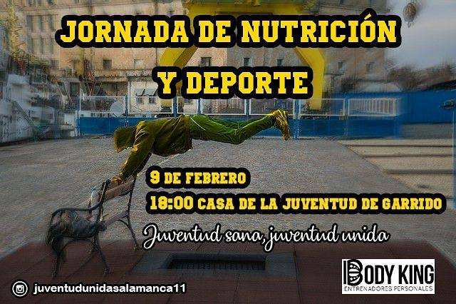 Casa de la Juventud de Garrido Jornada de Nutrición y Deporte Salamanca Febrero 2018