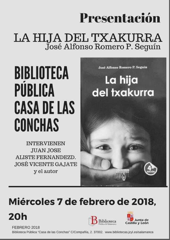 Casa de las Conchas La hija del txakurra Salamanca Febrero 2018