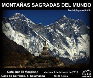 El Mordisco Montañas sagradas del mundo Salamanca Febrero 2018