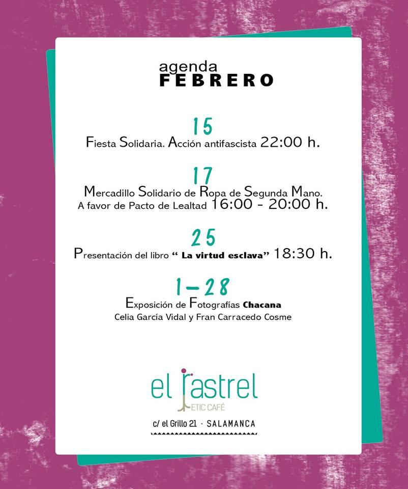 El Rastrel Salamanca Febrero 2018