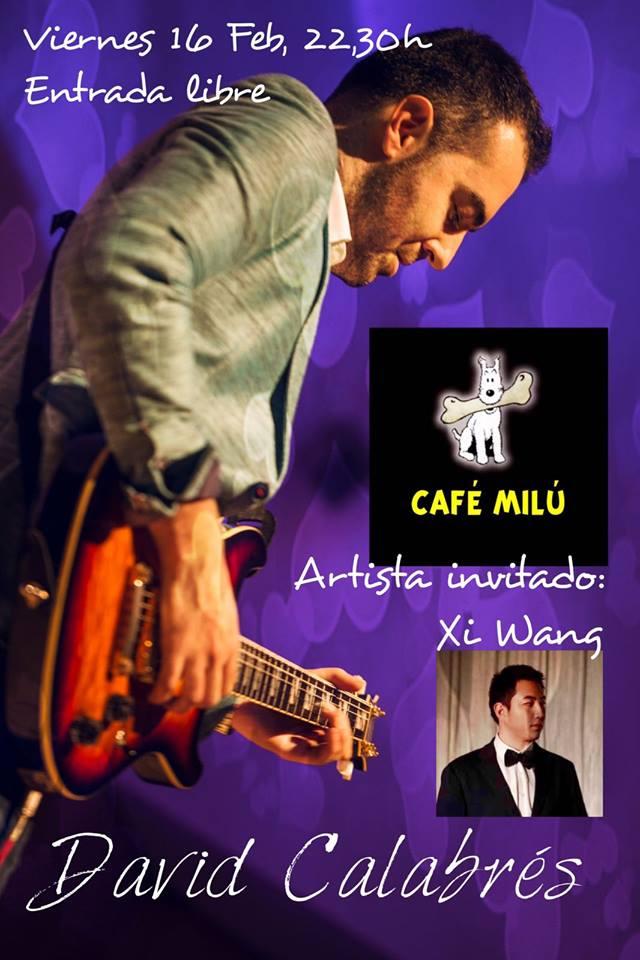 Café Milú David Calabrés 16 de febrero de 2018 Salamanca