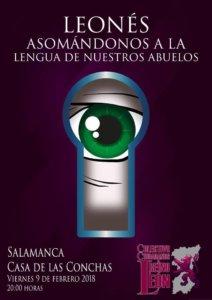 Casa de las Conchas Leonés Asomándonos a la lengua de nuestros abuelos Salamanca Febrero 2018