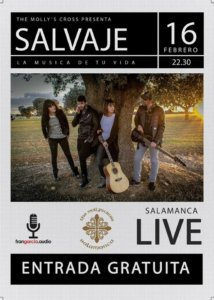 The Molly's Cross Salvaje Salamanca Febrero 2018