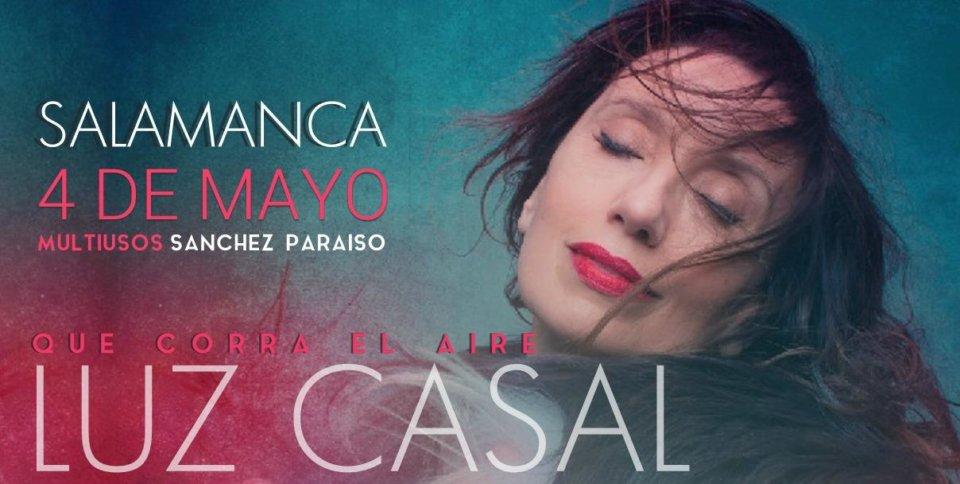 Sánchez Paraíso Luz Casal Ciclo Nuestras voces Salamanca Mayo 2018