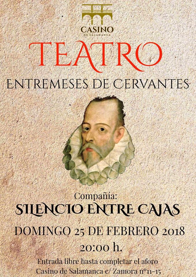 Casino de Salamanca Silencio entre Cajas Febrero 2018