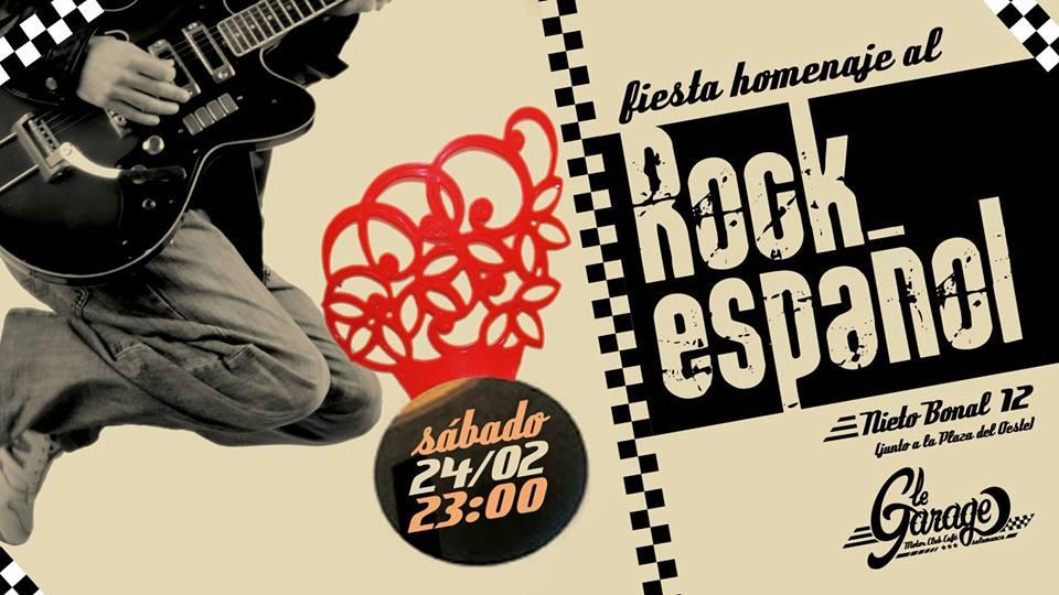 Le Garage MCC Fiesta Homenaje al Rock Español Salamanca Febrero 2018