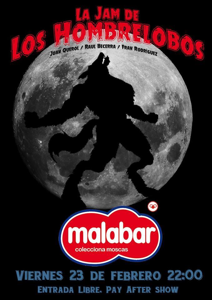 Malabar La Jam de los Hombrelobos Salamanca Febrero 2018