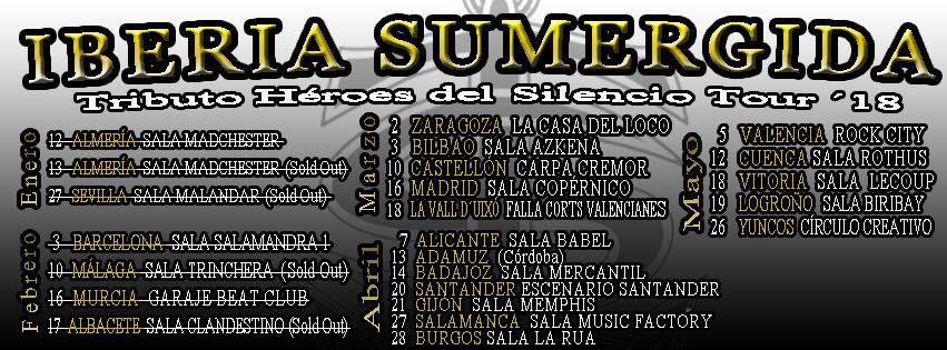 Music Factory Iberia Sumergida Salamanca Abril 2018