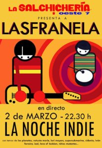 La Salchichería Oeste 7 Las Franela Salamanca Marzo 2018
