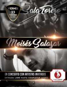 Sala Torero Moisés Salazar Salamanca Febrero 2018