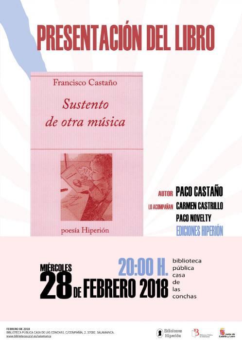 Casa de las Conchas Sustento de otra música Salamanca Febrero 2018