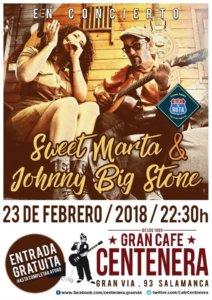 Centenera Sweet Marta & Johnny Big Stone Salamanca Febrero 2018