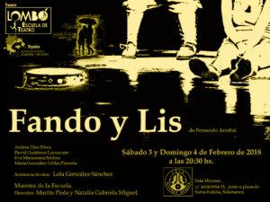 Sala Micenas Adarsa Lombó Teatro Fando y Lis Salamanca Febrero 2018