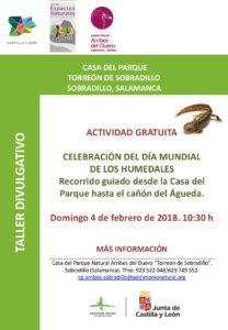 Sobradillo Día Mundial de los Humedales Febrero 2018