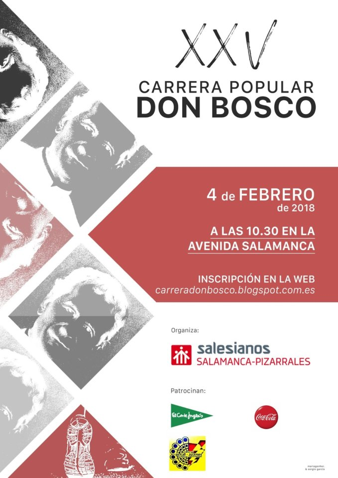 XXV Carrera Popular Don Bosco Salamanca Febrero 2018