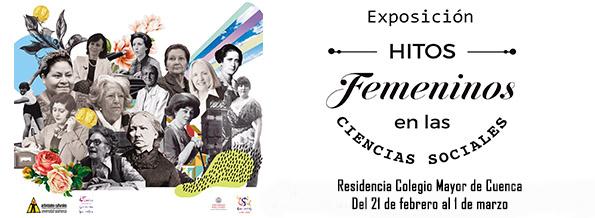 Colegio de Cuenca Hitos femeninos en las Ciencias Sociales Universidad de Salamanca Febrero marzo 2018