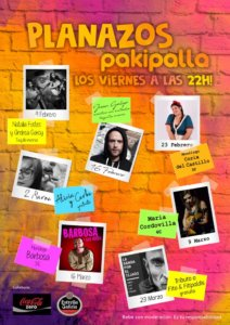 Pakipalla Planazos Salamanca Febrero marzo 2018
