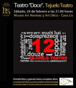 Museo de Art Nouveau y Art Déco Casa Lis Tejuelo Teatro Doce Salamanca Febrero 2018