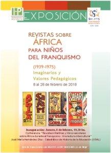Museo Judío David Melul Revistas sobre África para niños del franquismo 1939 1975 Imaginarios y valores pedagógicos Béjar Febrero 2018